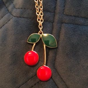 🍒 Cherry necklace! 🍒